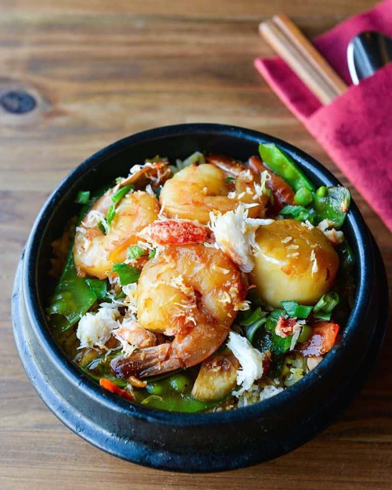 Seafood Clay Pot – Cơm Tứ Xuyên