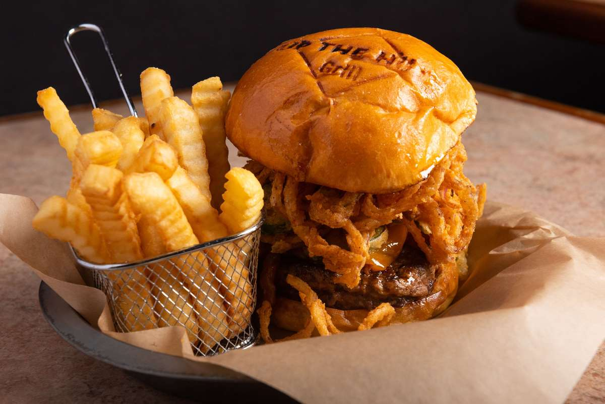 Maple Bourbon Bacon Burger