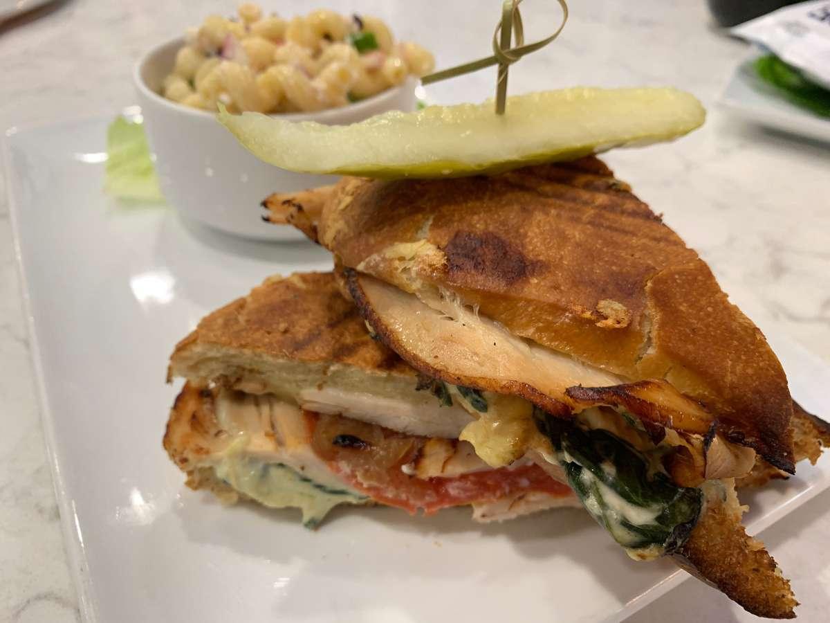 Turkey & Artichoke Panini