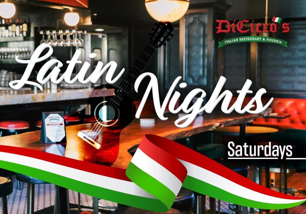 Latin Nights Saturdays