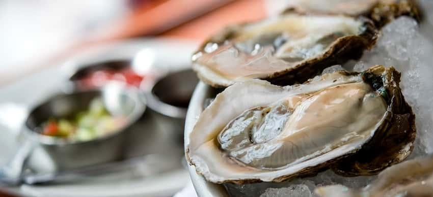 1/2 dz. Raw Oysters