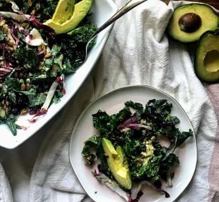 Kale and Farro Salad