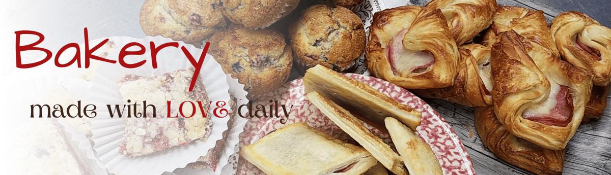 fresh baked goods daily