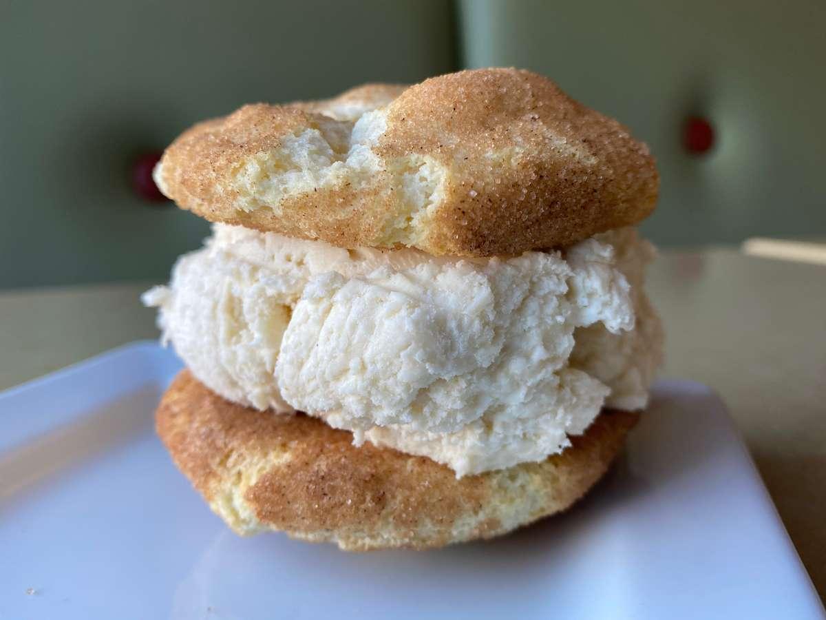 Snickerdoodle Ice-Cream Sandwich