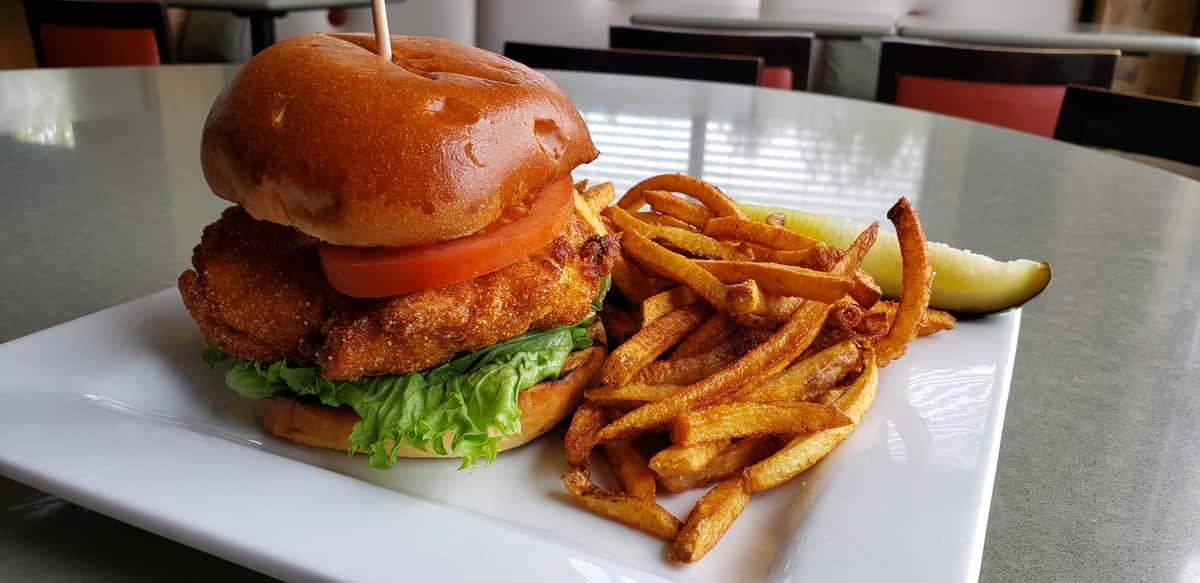 Crispy Fried Chicken Sandwich