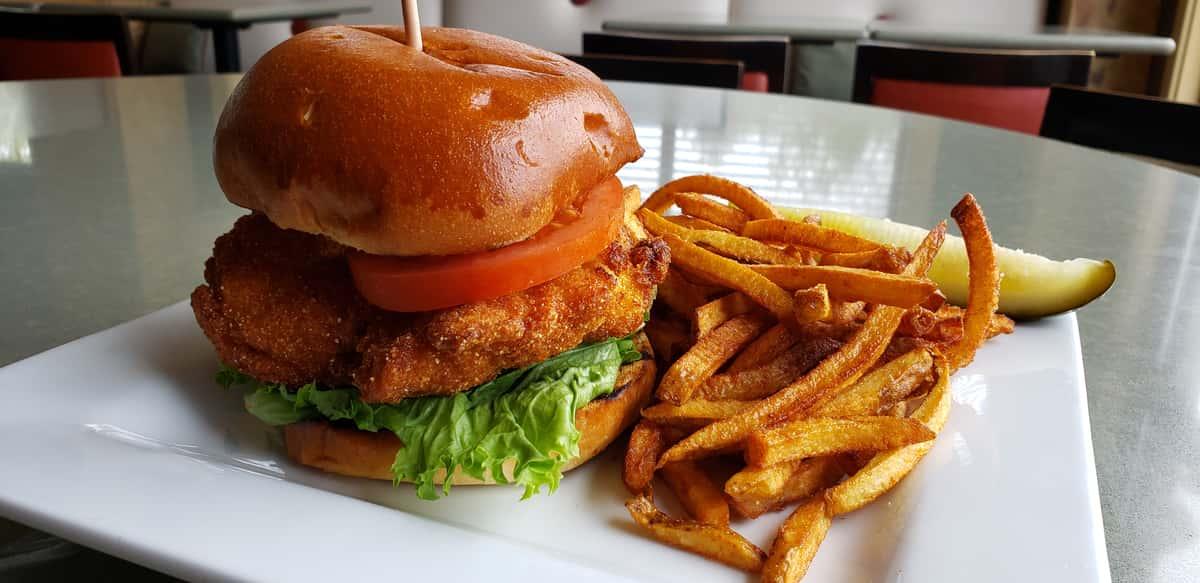 Crispy Fried Chicken Sandwich (Crave)