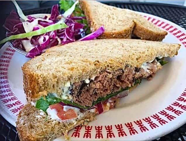 Herb & Feta Roast Beef Sandwich!