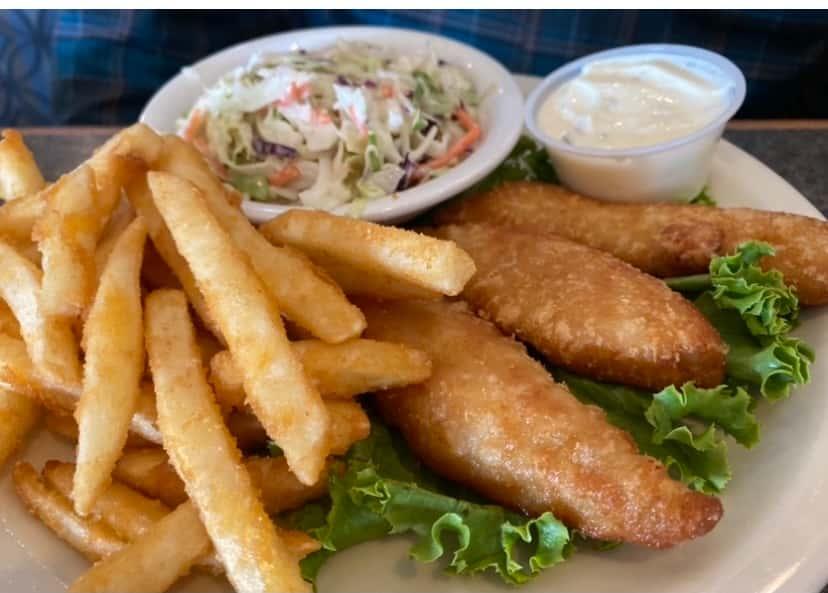 Fish Filet Dinner