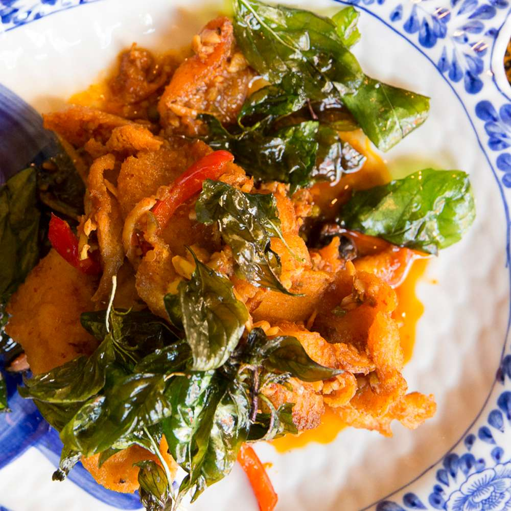 Spicy Curry Paste Basa Fish