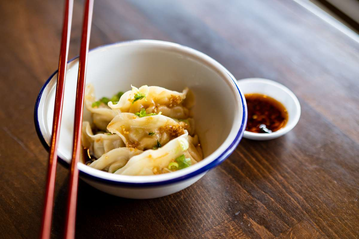 Chicken & Vegetable Dumplings