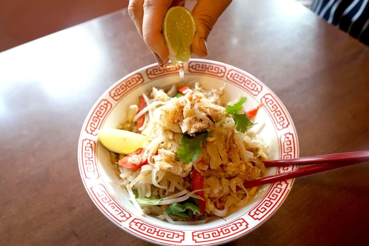 Crab Noodle
