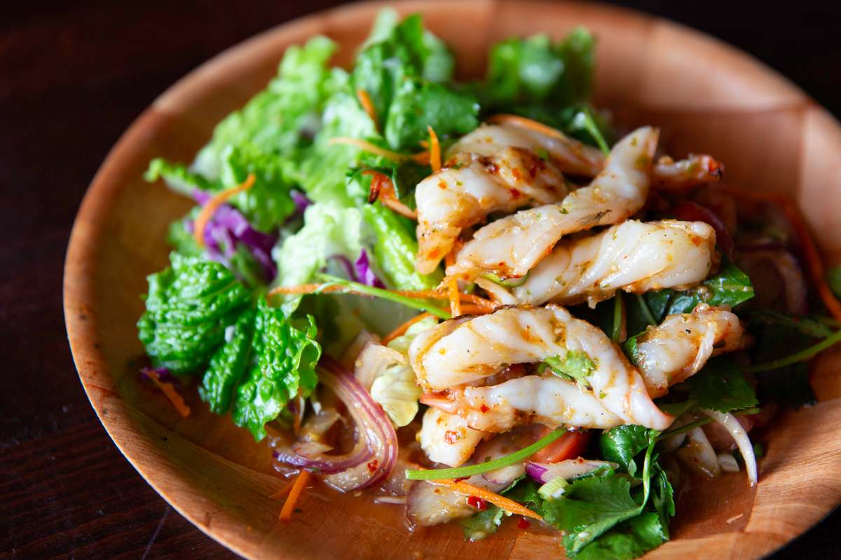 Naked Shrimp Salad