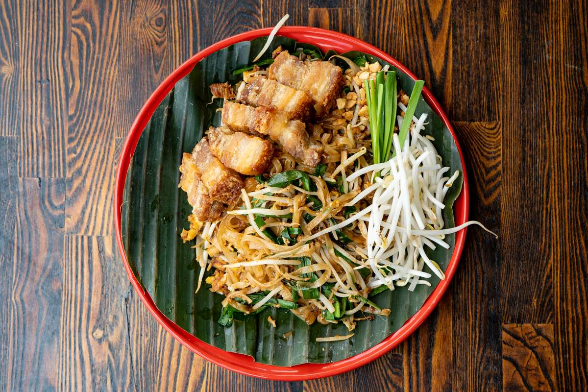Crispy Pork Belly Pad Thai