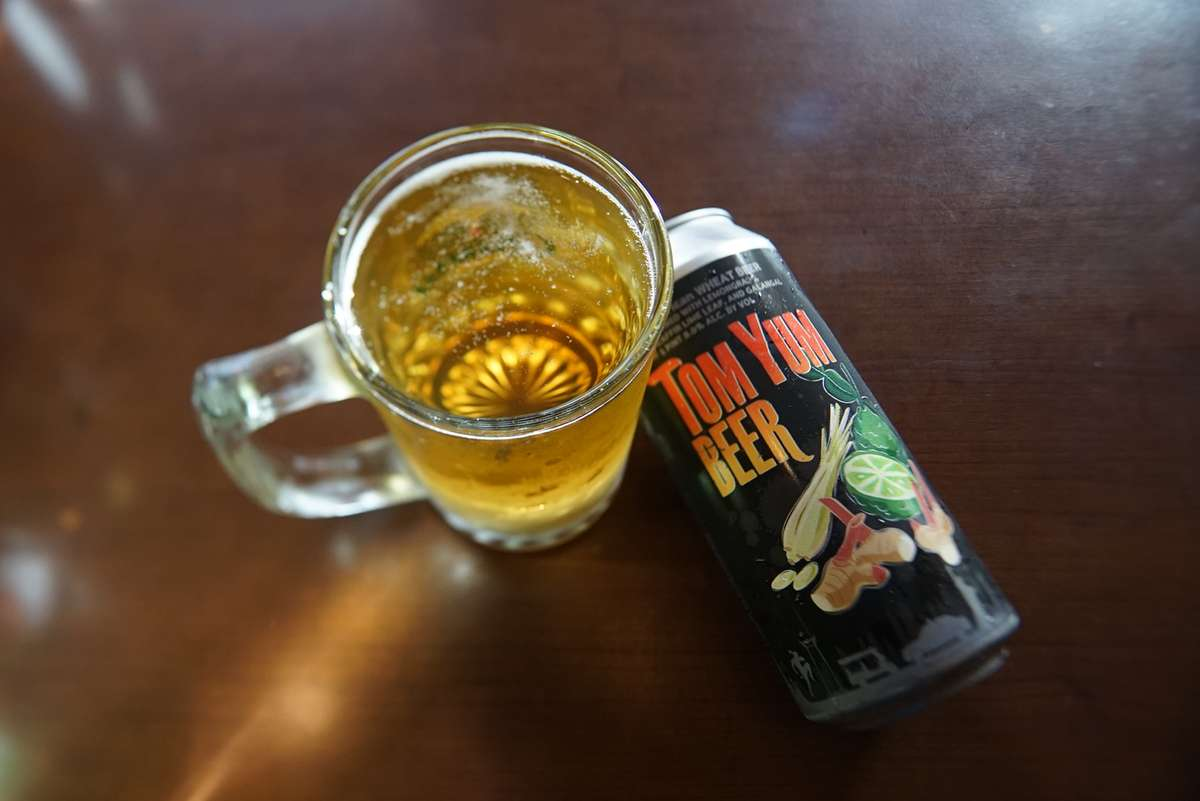 Tom Yum Beer / American Wheat Beer (1 pint can)