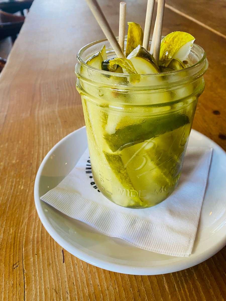 Jar of Just Pickles