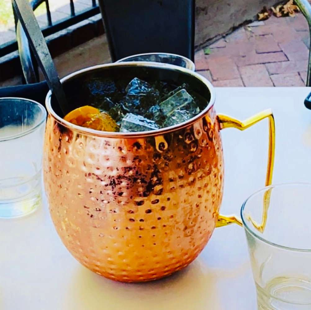 Moscow Mule Bowl