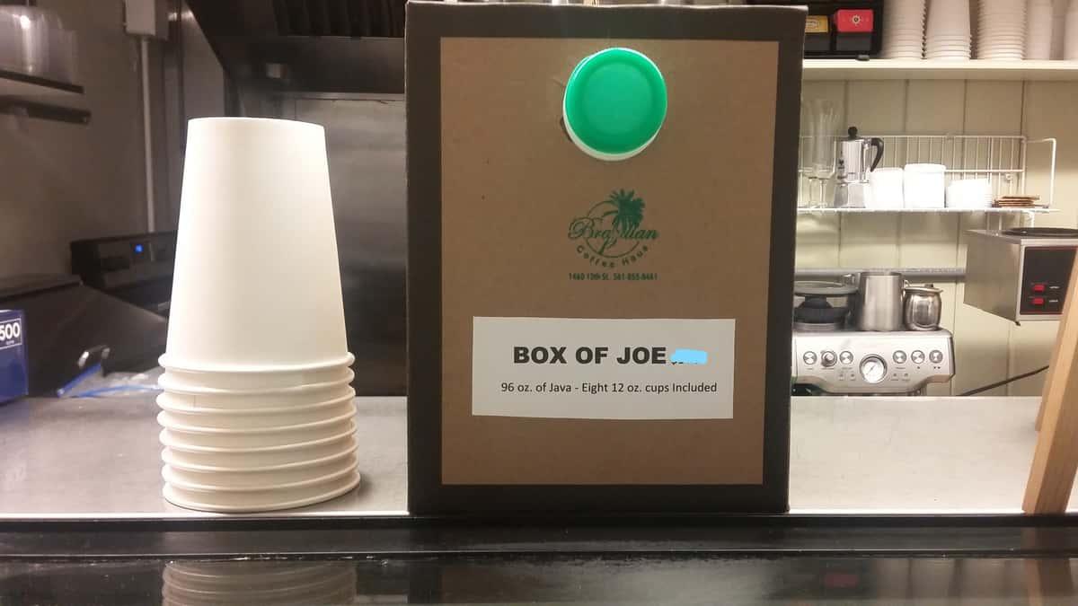 Box of Joe (Serves 8)