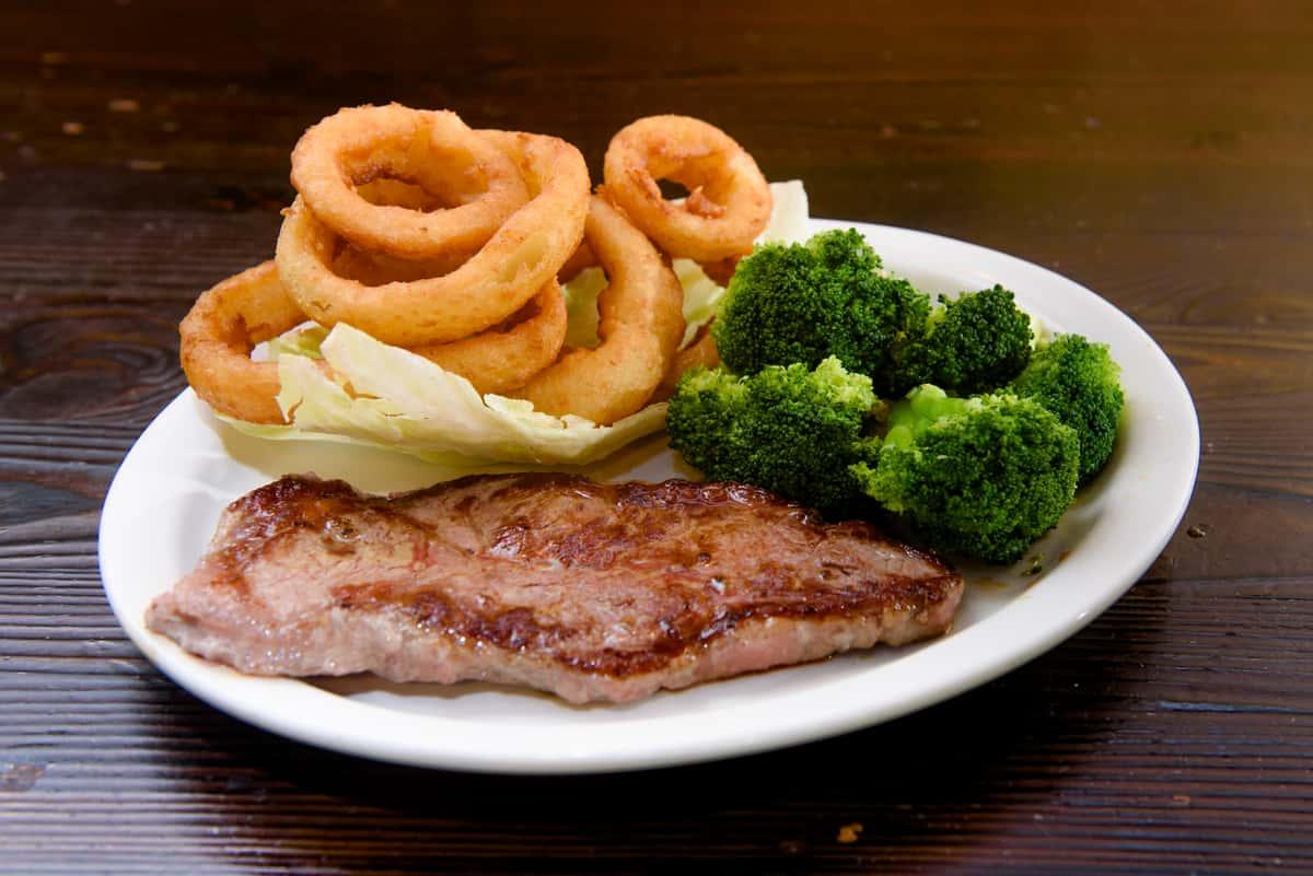 Strip Steak Platter