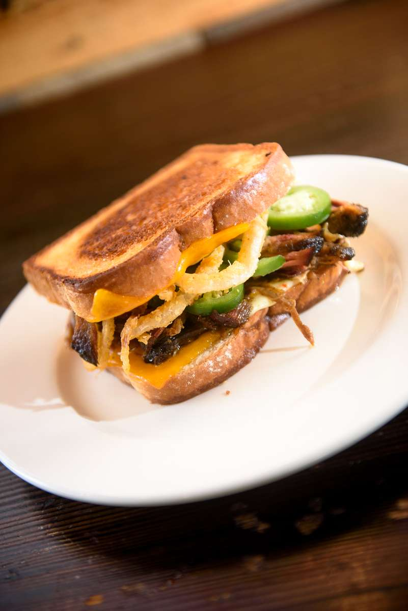 Smoked Grilled Cheese