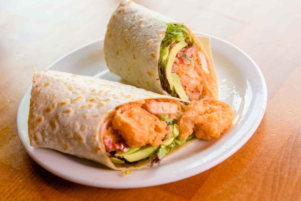 Firecracker Shrimp Wrap