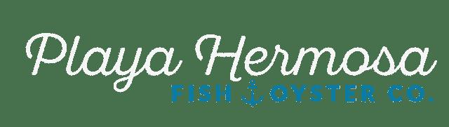 playa hermosa - fish oyster co logo