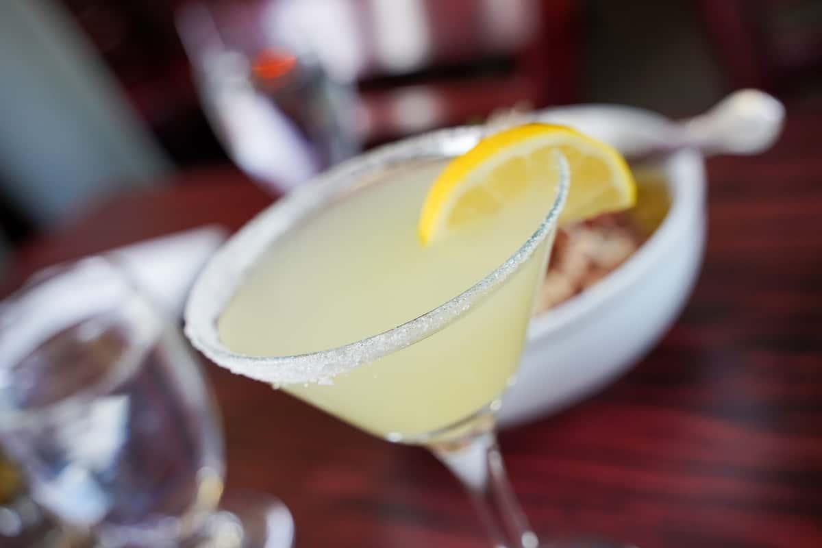 Italian Lemon Drop Martini