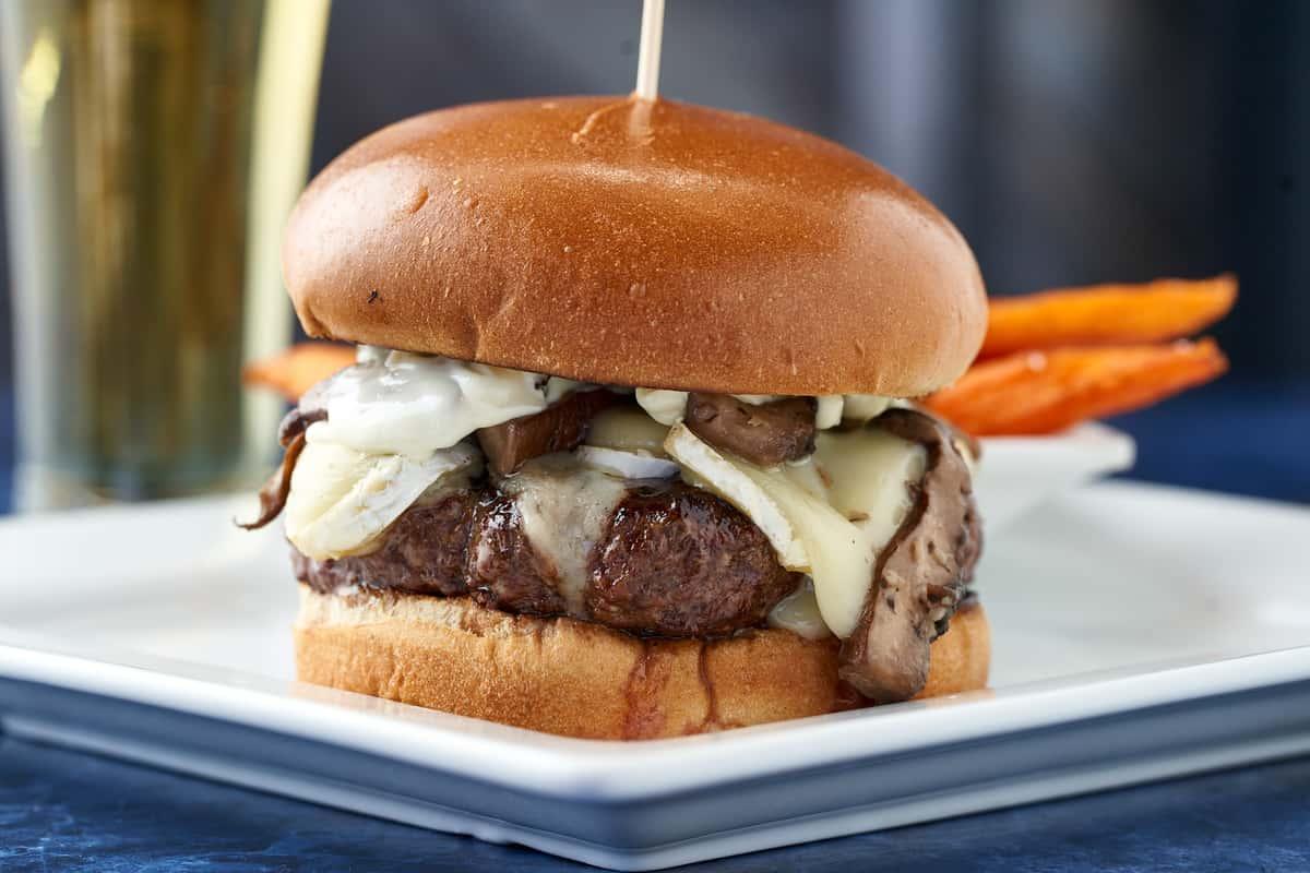 Truffle Brie Burger