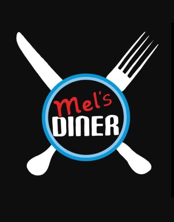 mel's logo