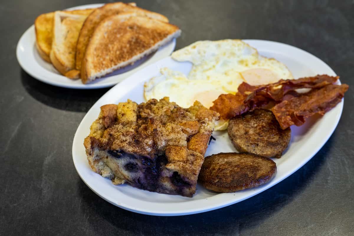 Mel's Mega Breakfast