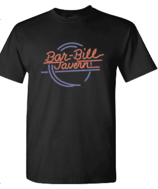 BAR-BILL NEON LOGO T-SHIRT