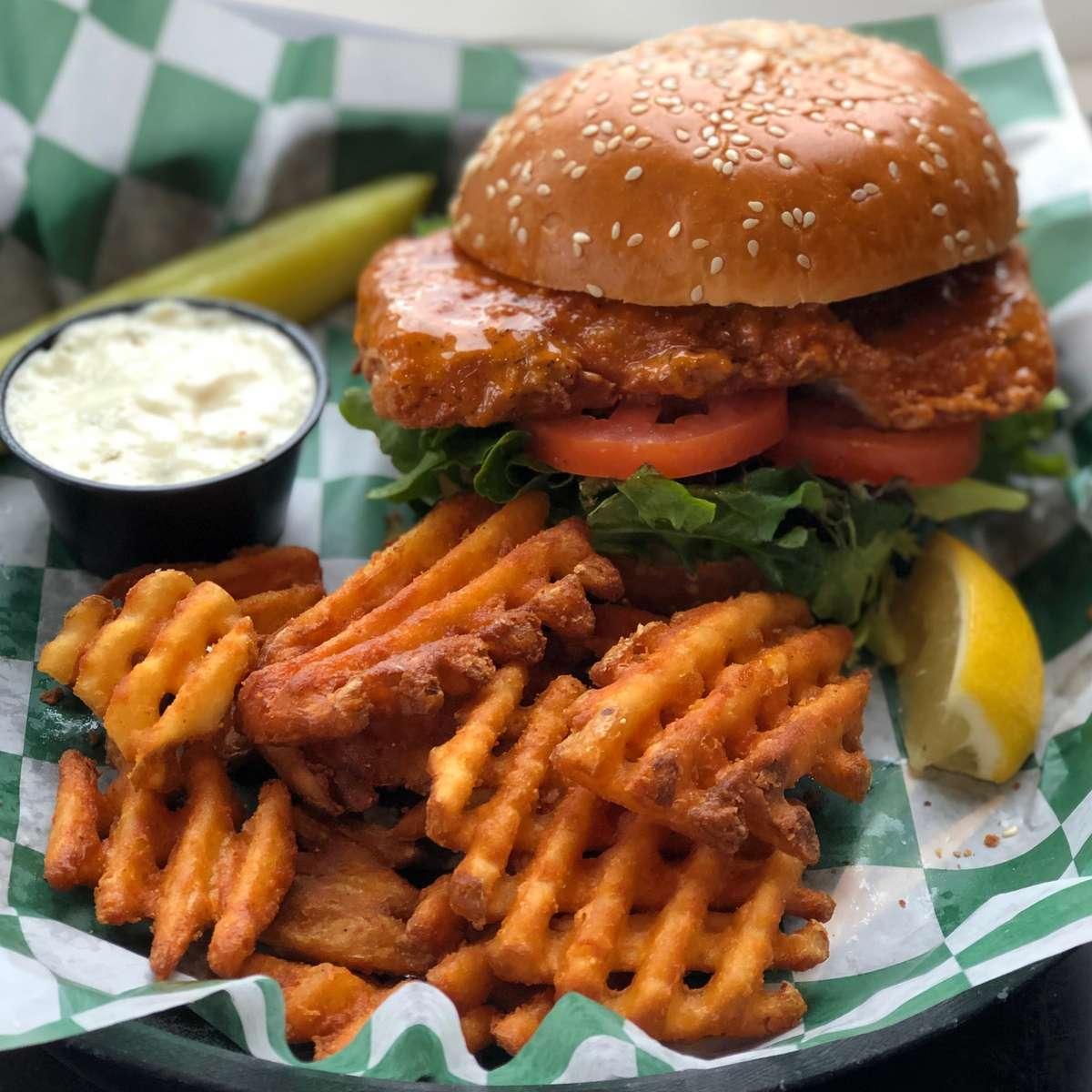 Cajun Fish Sandwich