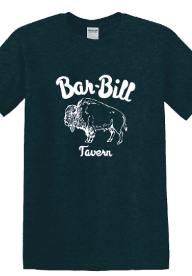 BAR-BILL MIDNIGHT GREEN BUFFALO T-SHIRT