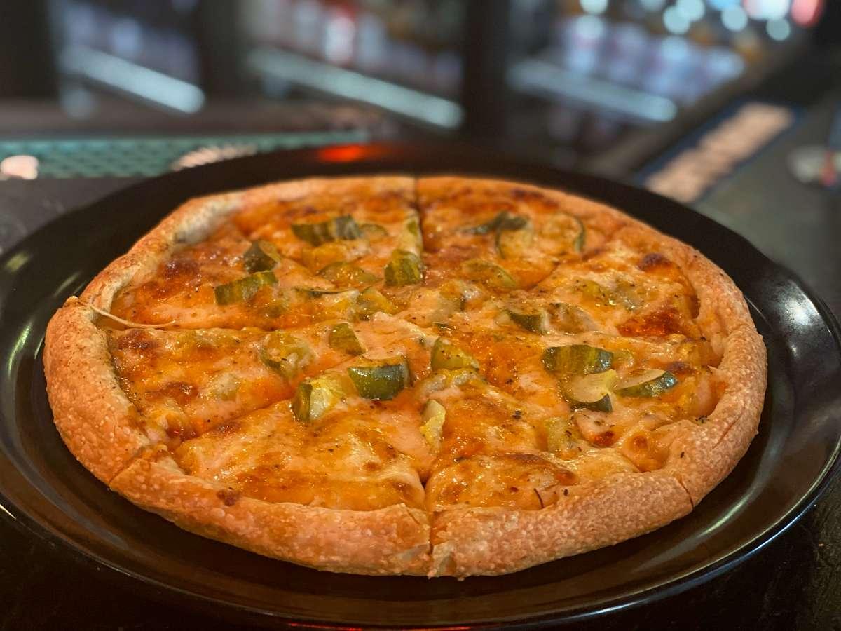 Cajun Pickle Pizza