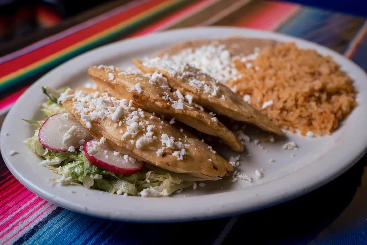 Mexican Quesadillas Plato
