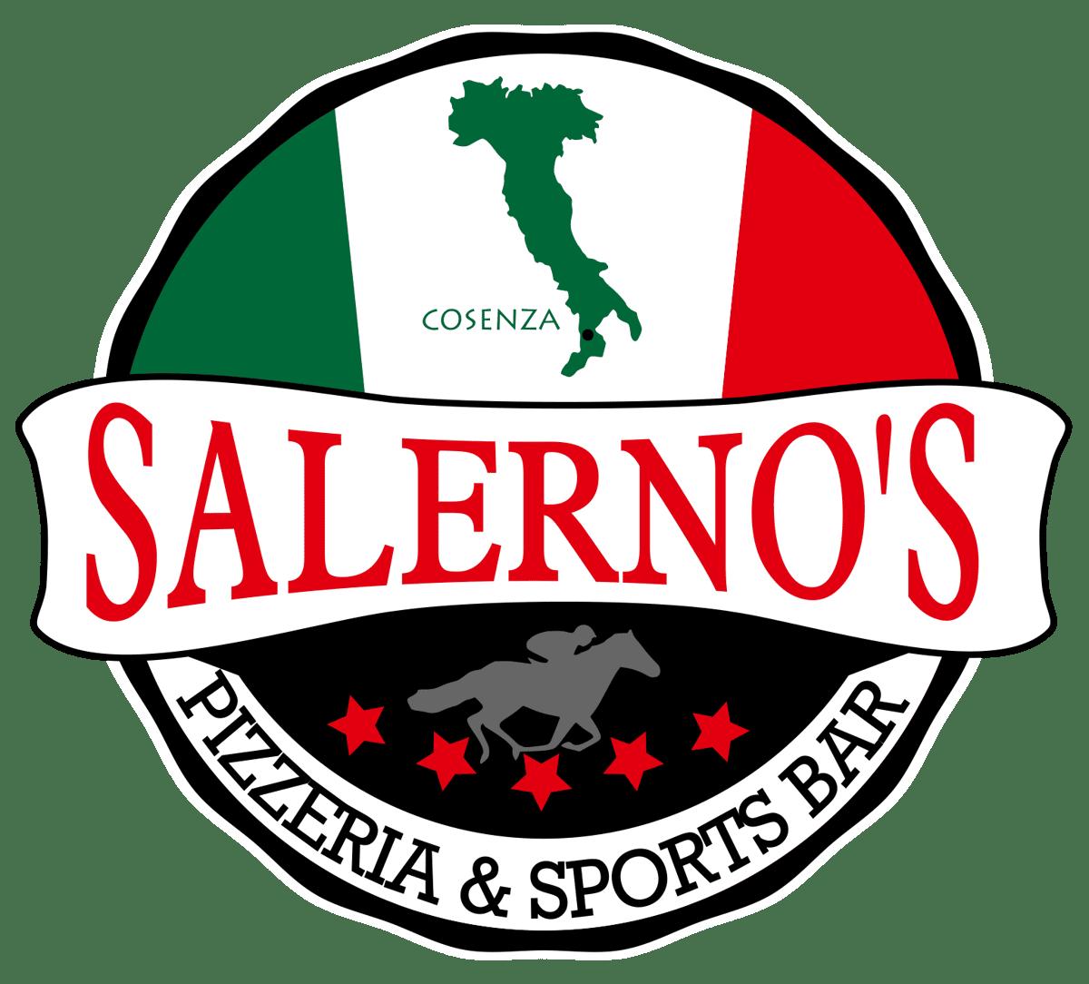 pizzeria and sports bar logo