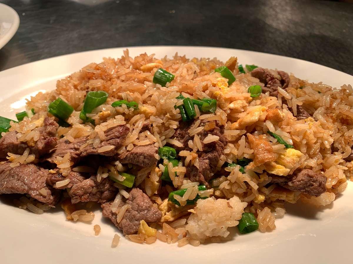 Chaufa de Carne (Beef)