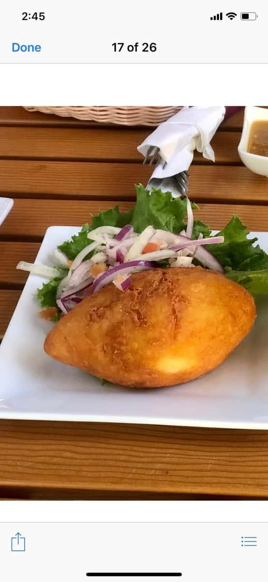 Papa Rellena-Stuffed Potato
