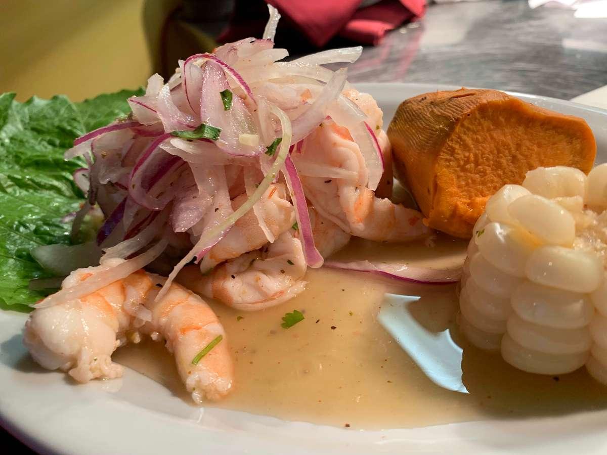 *Ceviche Camarones (Shrimp)