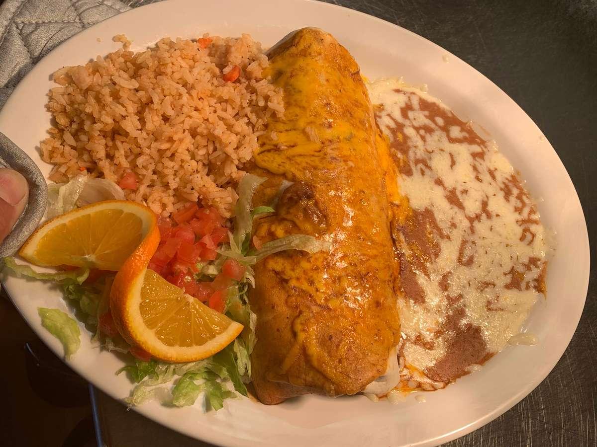 #2- Burrito Plate