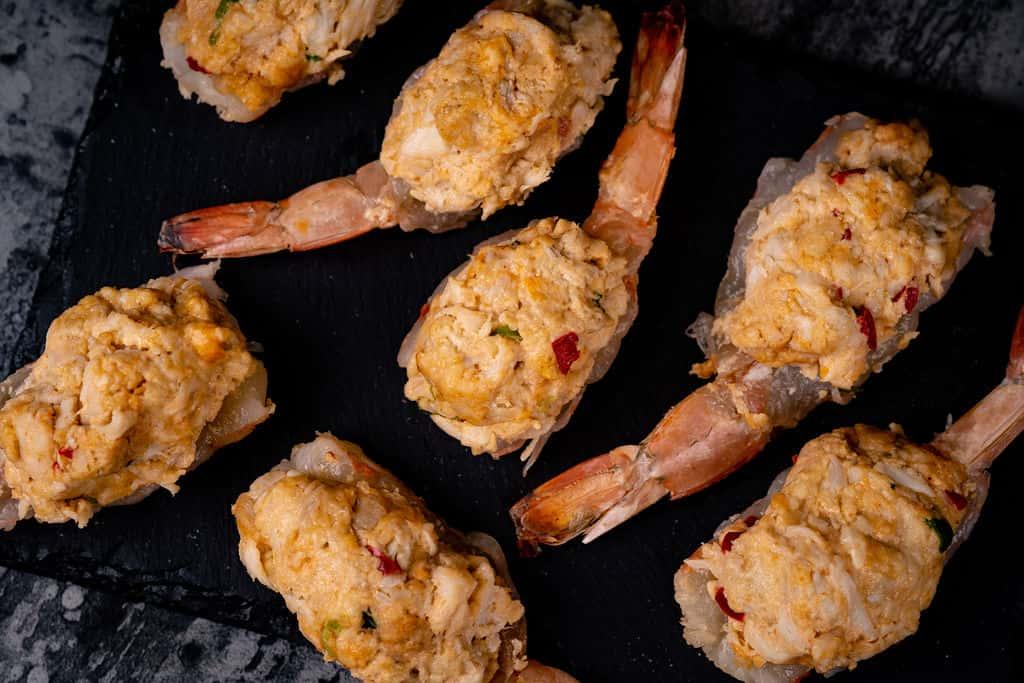 Crabbed Stuffed Shrimp