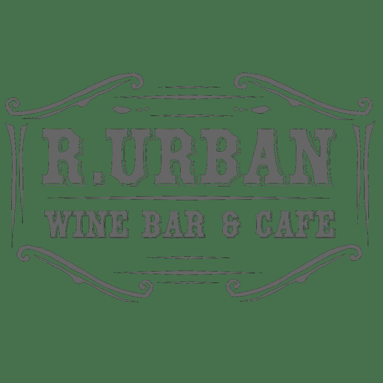 r. urban wine bar logo
