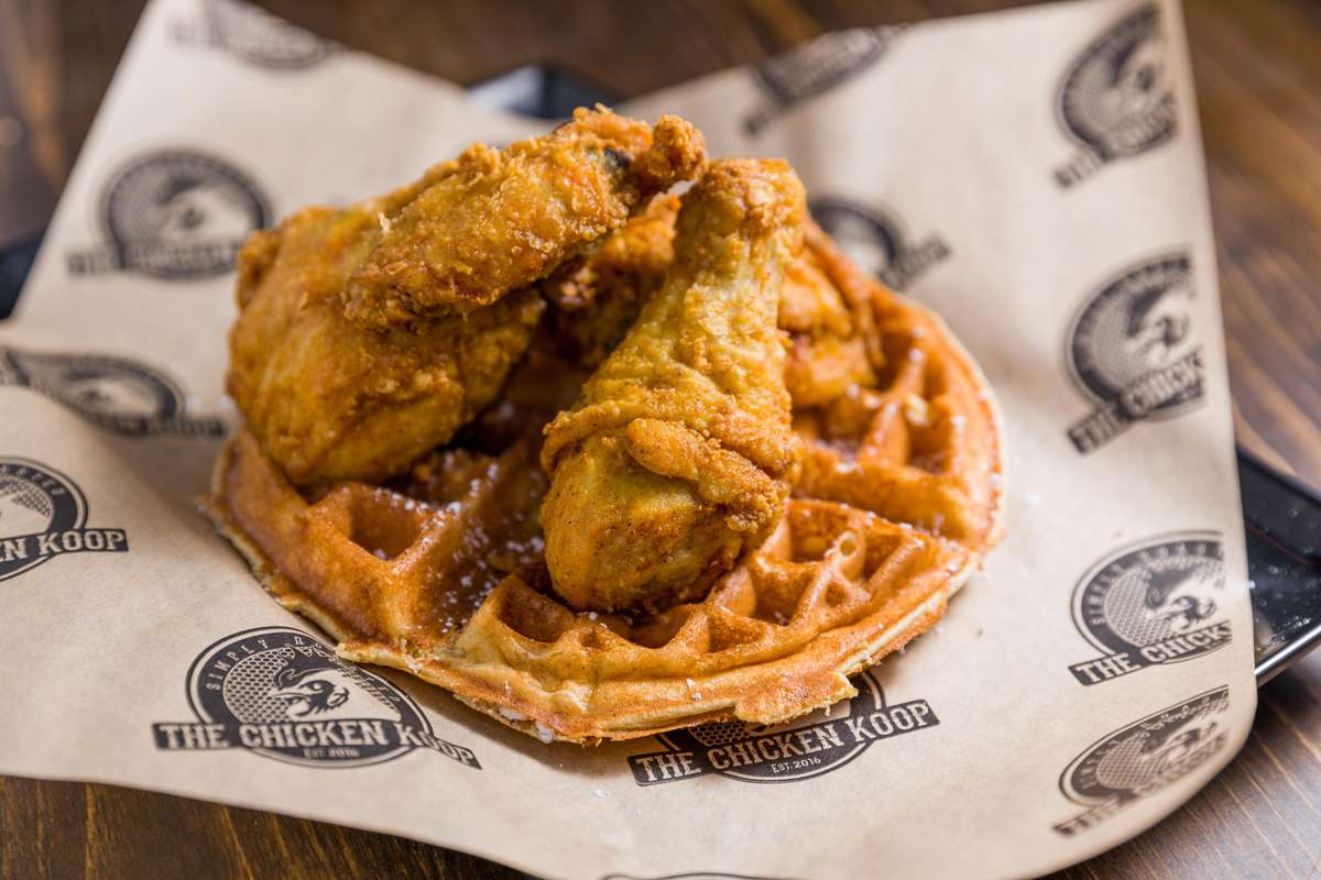 Fried Chicken & Waffle