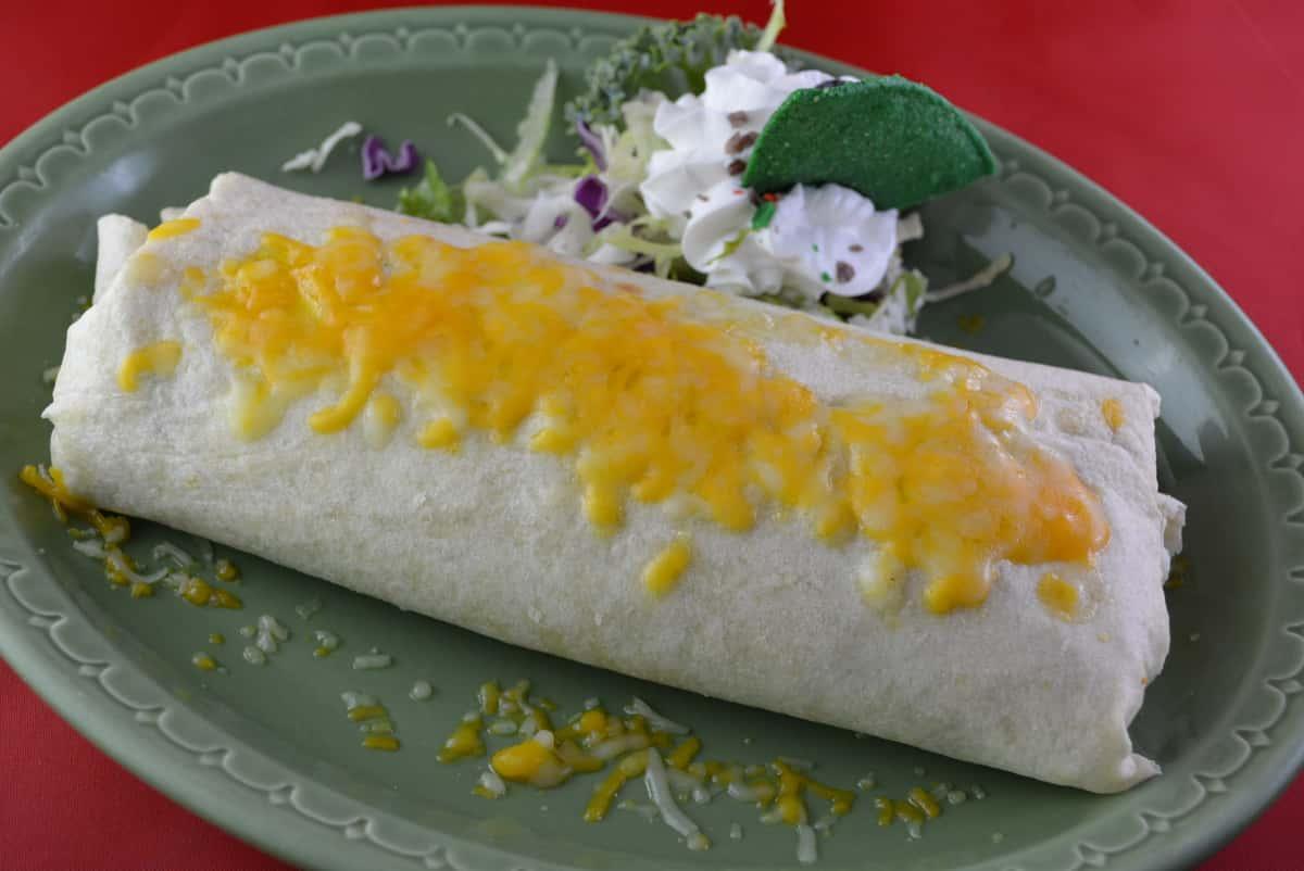 Bean N Cheese Burrito