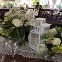 White Lanterns, Glass Vases, Picture Frames