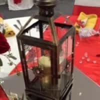 Lantern Centerpieces (Dark Brown)