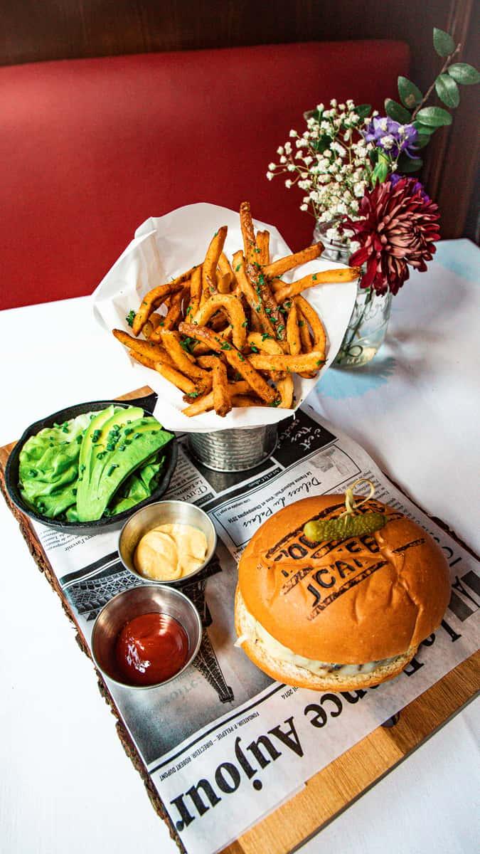 Toulouse Burger **