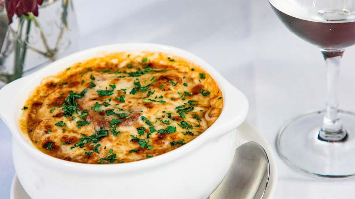 Onion Soup Au Graten