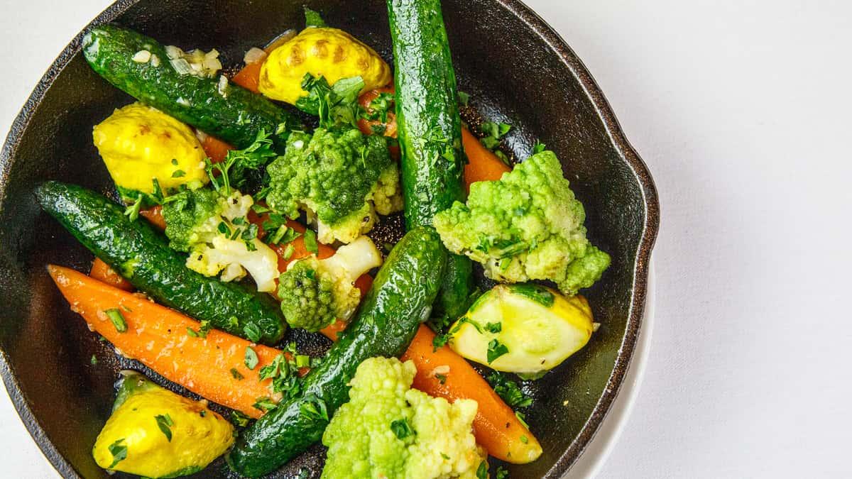 Organic Vegetables Bouquetiere