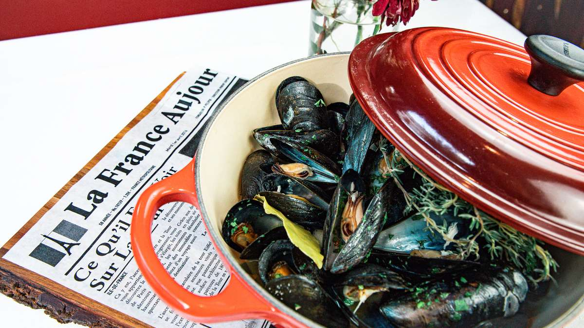 Mussels Mari̇ni̇ère