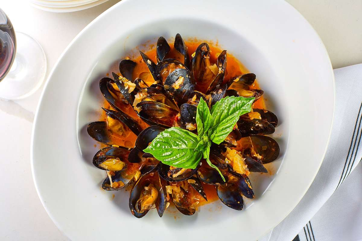 mussels of the day